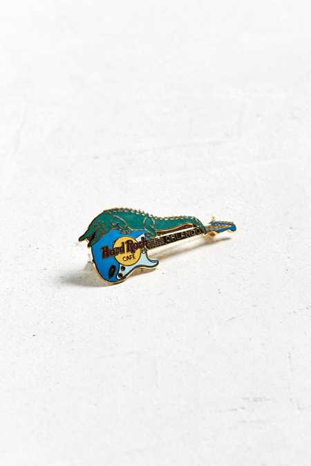 Vintage Hard Rock Cafe New Orleans Guitar Pin
