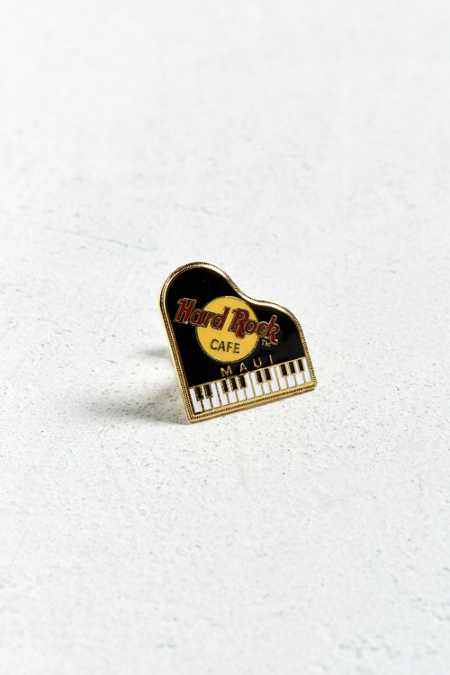 Vintage Hard Rock Cafe Maui Piano Pin