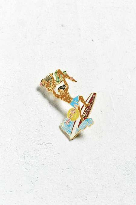 Vintage Hard Rock Cafe Maui Surfer Pin