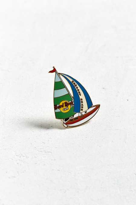 Vintage Hard Rock Cafe Newport Sailboat Pin