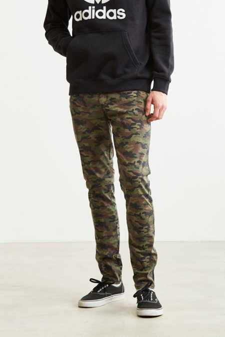 Tripp NYC Washed Camo Skinny Pant