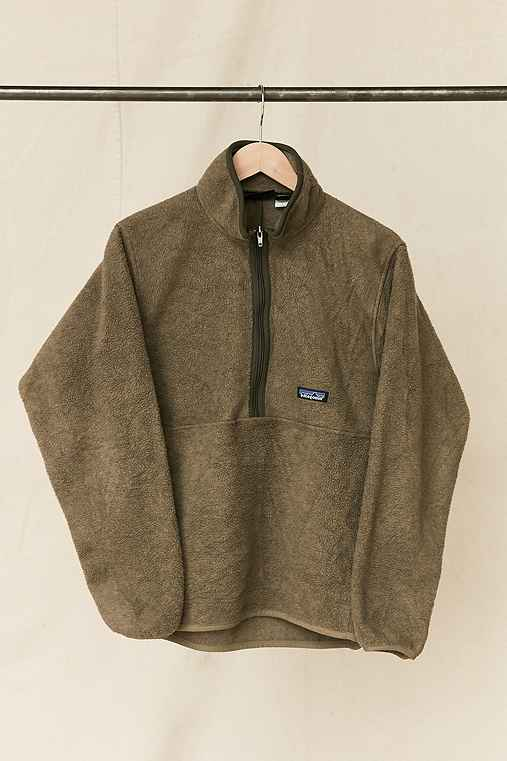 Vintage Patagonia Moss Fleece Pullover Jacket,ASSORTED,ONE SIZE
