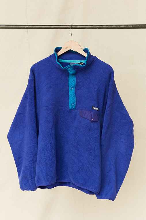 Vintage Patagonia Bright Purple Fleece Pullover Jacket,ASSORTED,ONE SIZE