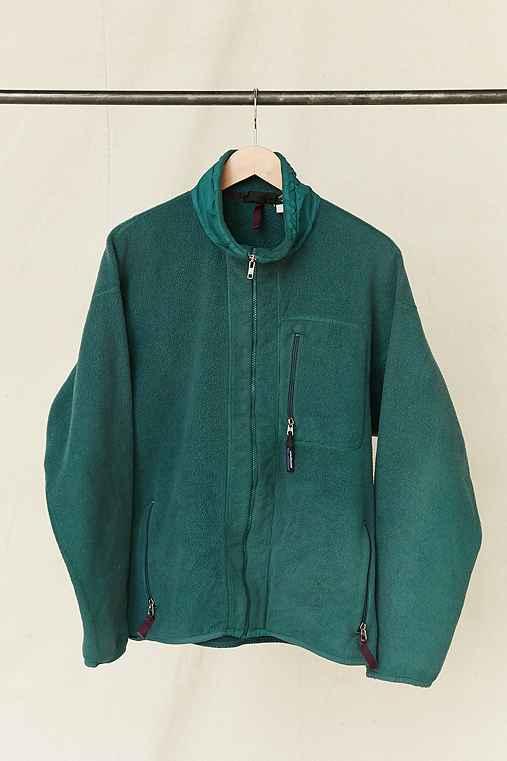 Vintage Patagonia Teal Fleece Jacket,ASSORTED,ONE SIZE