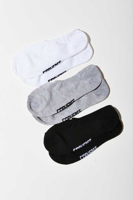 Converse All Star Basic Hidden Liner Sock 3 Pack