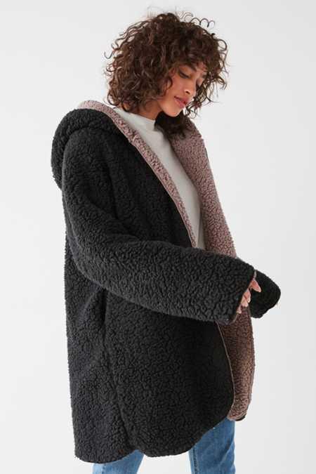 Silence   Noise Magnolia Cozy Reversible Coat