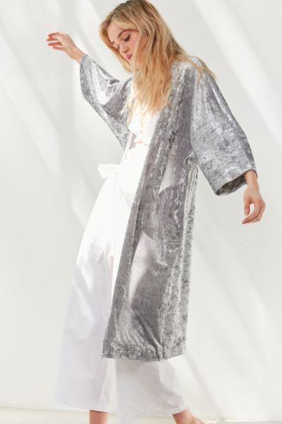 Crushed Velvet Kimono