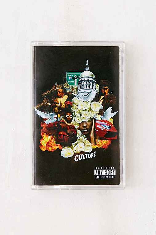 Migos - Culture Exclusive Cassette Tape,BLACK,ONE SIZE