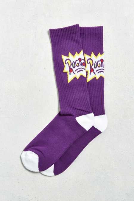 Rugrats Logo Sport Sock