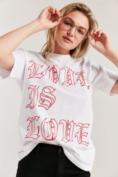 Kris Chau X UO Love Is Love Tee
