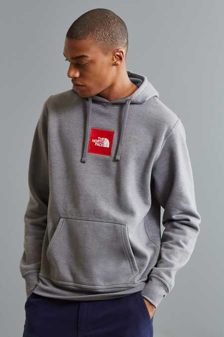 The North Face Embroidered Box Logo Hoodie Sweatshirt