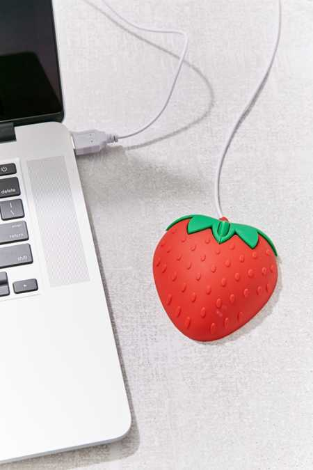 Strawberry Computer Mouse