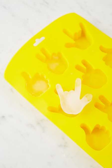 Hand Sign Ice Cube Mold
