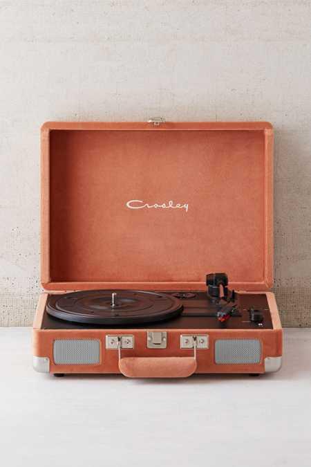 Crosley X UO Velvet Cruiser Bluetooth Record Player
