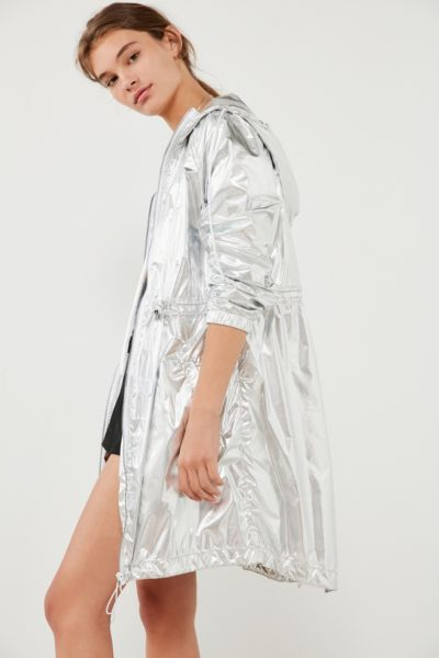 Volcom Stone Row Metallic Rain Coat