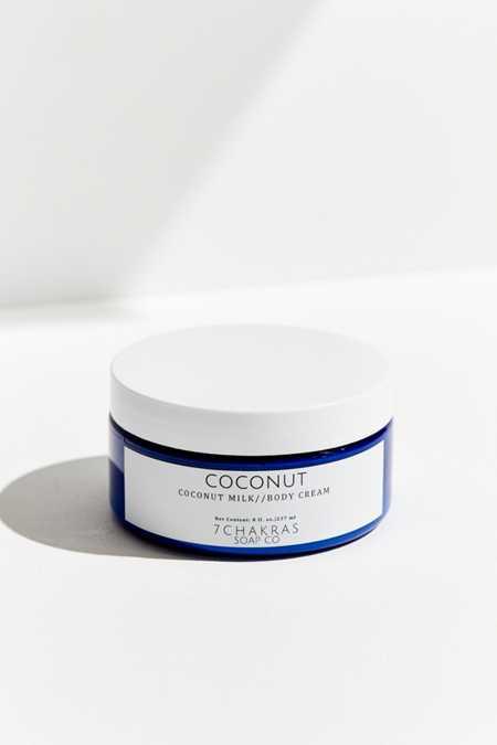 7 Chakras Soap Company Rose Coconut Milk Body Cream