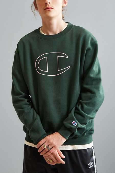 Champion Big C Crew Neck Sweatshirt