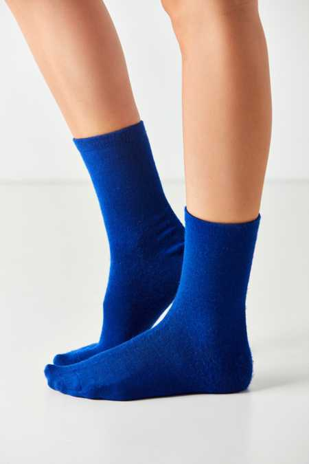 Out From Under Cozy Flat Knit Crew Sock