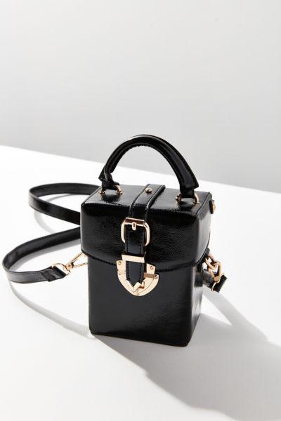 Maud Structured Mini Crossbody Bag