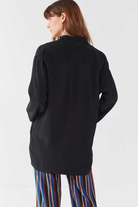 Silence   Noise Relaxed Open Front Blazer
