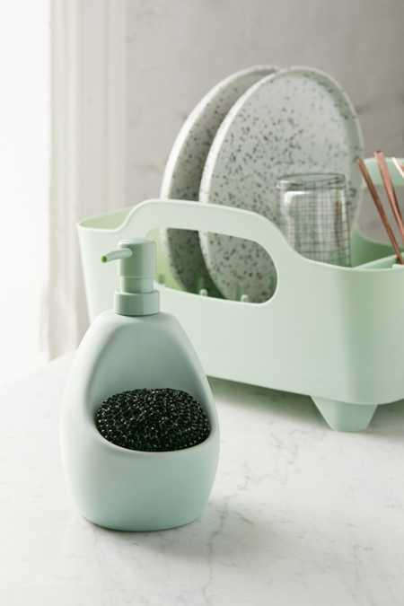 Joey Dish Soap Pump   Scrubber