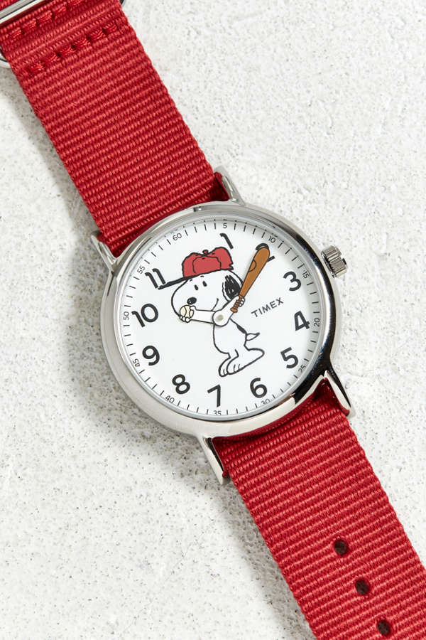 1c652c367 Timex Welton Snoopy Watch Urban Outfitters | 2019 trends | xoosha