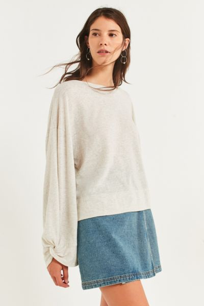 Truly Madly Deeply Twist-Sleeve Tee