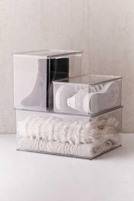 Transparent Sweater Box
