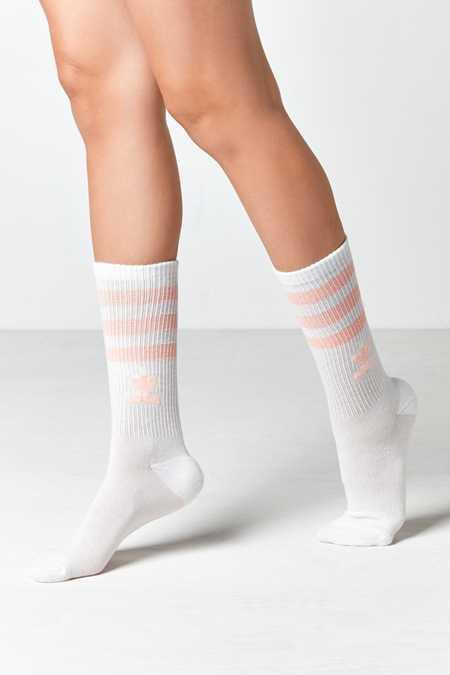 adidas Originals Haze Coral Single Roller Crew Sock