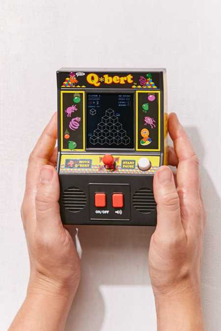 Classic Q*bert Hand Held Game