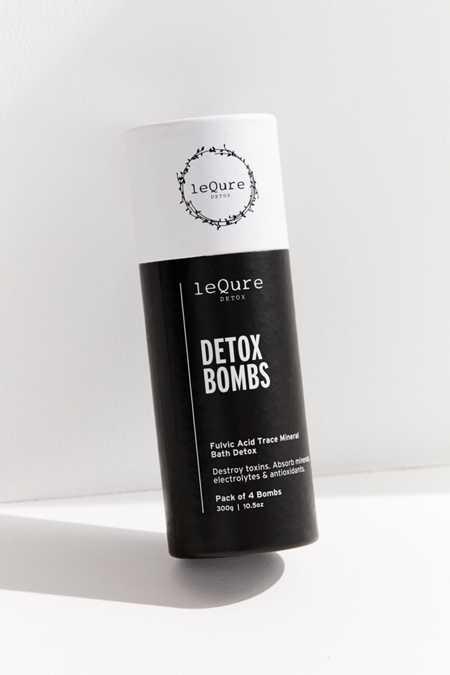 LeQure Detox Bath Bomb Set