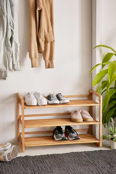 Bamboo Shoe Storage