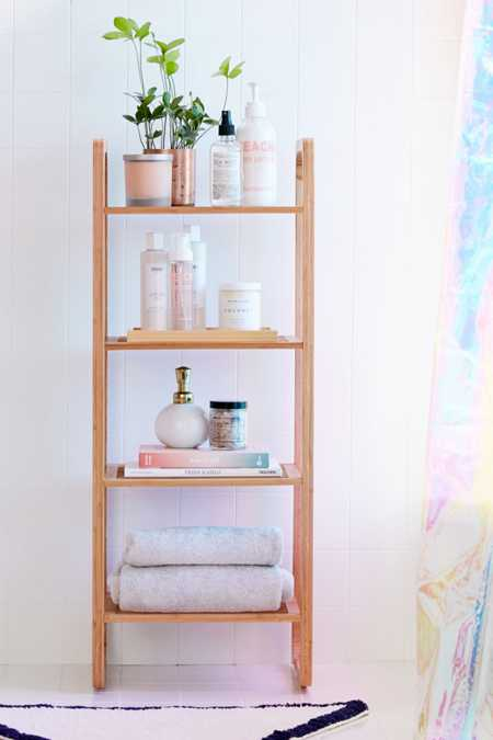Bamboo Tiered Shelf