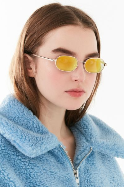 Golden Hour Oval Sunglasses