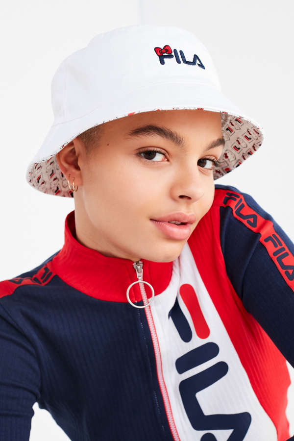0f511618993 Fila X Sanrio For Uo Reversible Bucket Hat Urban Outfitters