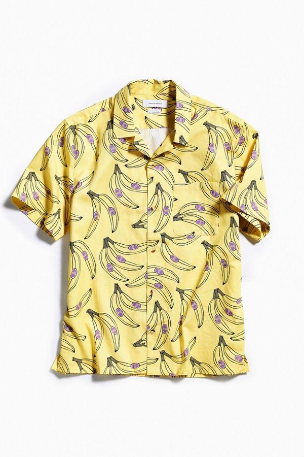2a3ab7de0 Uo Red Dragon Short Sleeve Buttondown Shirt Urban Outfitters   2019 trends    xoosha
