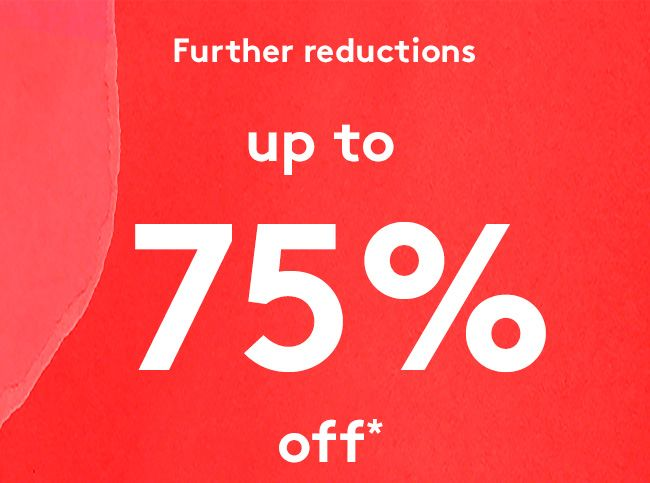Further reductions up to 75% off sale items plus new styles arrivals + free delivery on orders over 50$ at Urban Outfitters.