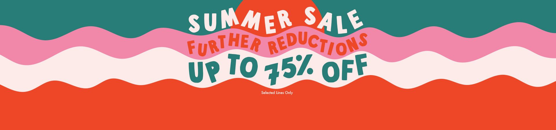 Save up to 75% off on selected lines at Urban Outfitters.