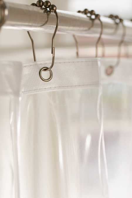 Slide View: 2: Shower Curtain Liner
