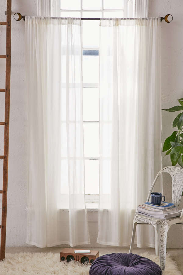 Slide View: 1: Chloe Gauze Curtain
