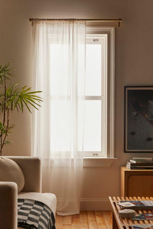 chloe gauze curtain urban outfitters