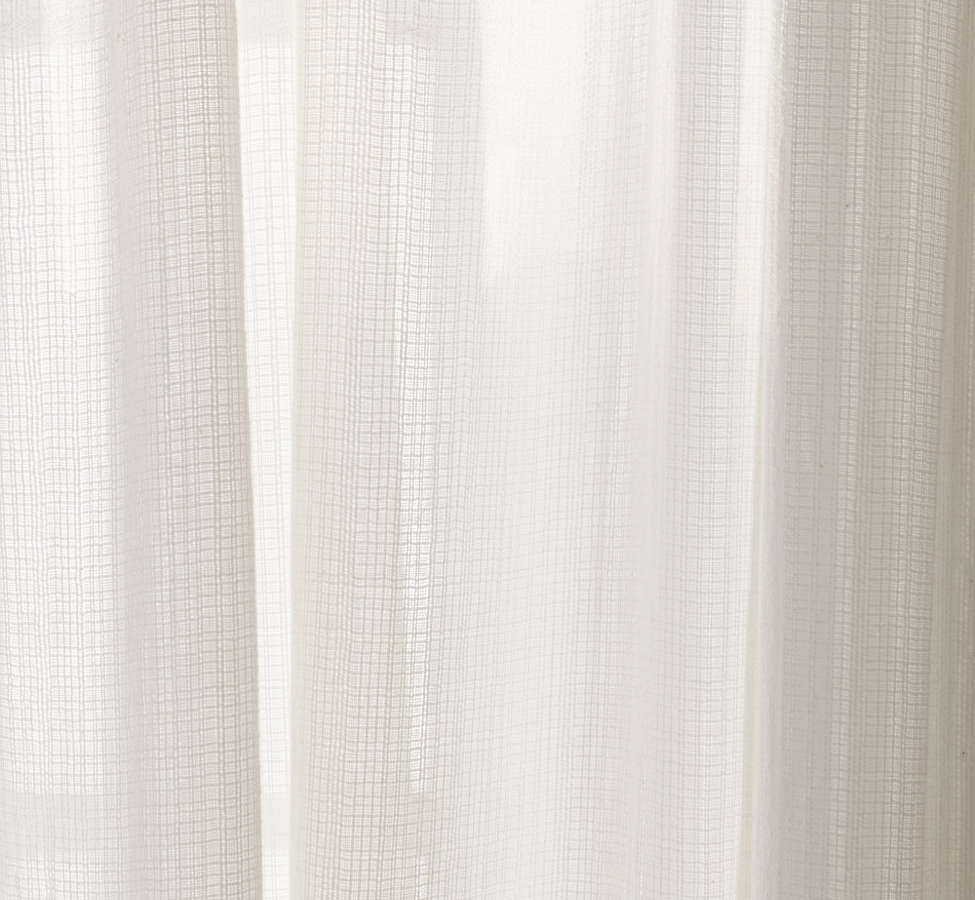Slide View: 3: Chloe Gauze Curtain