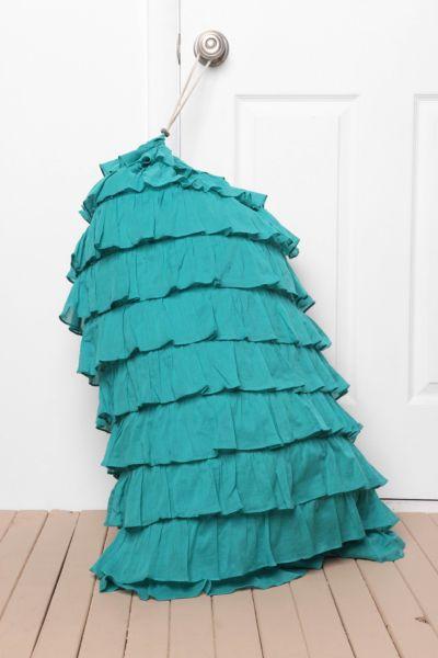 Ruffled Laundry Bag