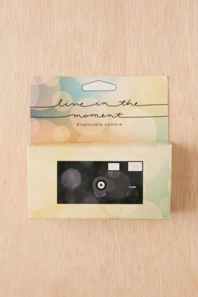 Live In The Moment Disposable Camera | Urban Outfitters