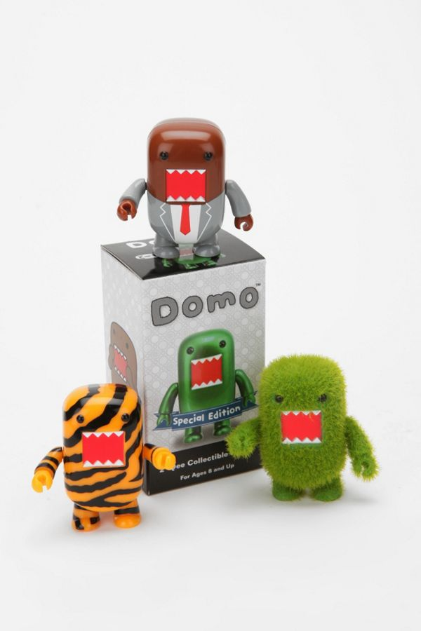 uo exclusive limited edition 2 domo figure urban outfitters