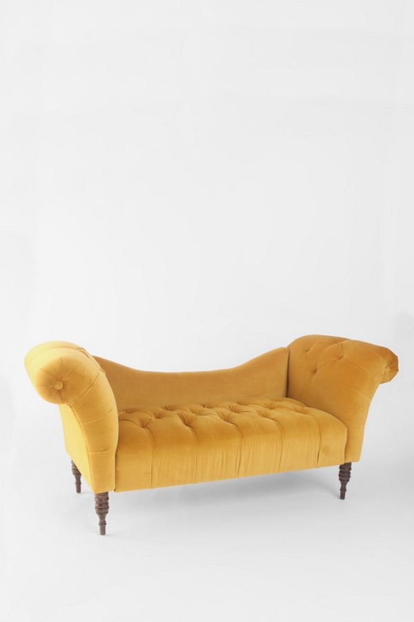 Antoinette Fainting Sofa Antique Gold