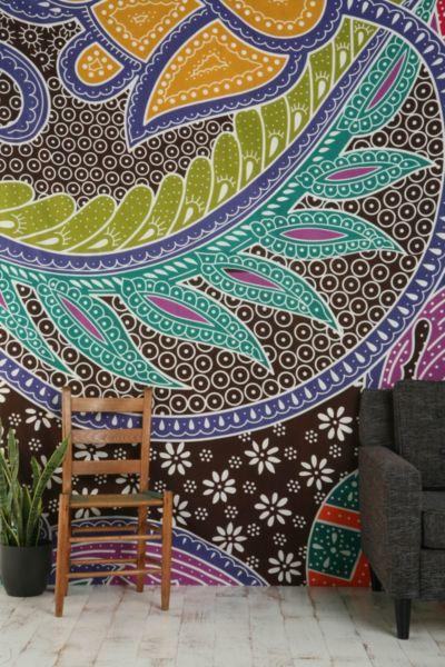 Batik Galaxy Tapestry