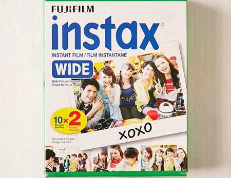 Slide View: 1: Fujifilm Instax Wide Film