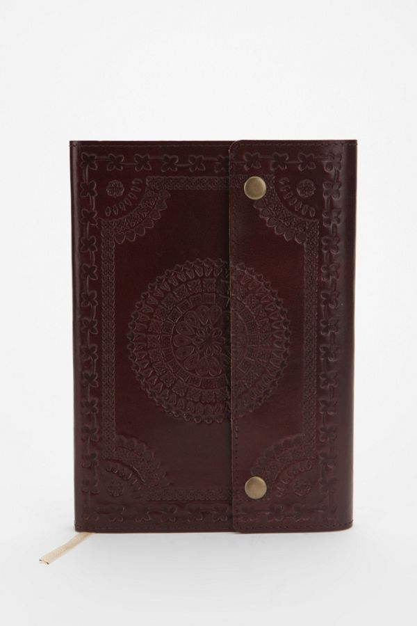 Oh Snap Ethnic Leather Journal