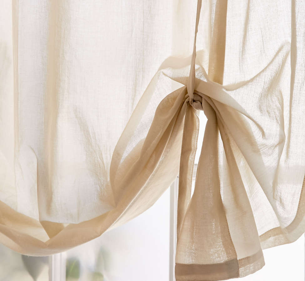Slide View: 4: Draped Shade Curtain